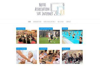 homepage notre association sur internet